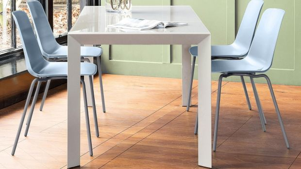 Slide dining table, Harvey Norman