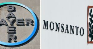 Bayer cleared the final major hurdle to its $66bn takeover of Monsanto on Tuesday as US antitrust authorities approved the deal, requiring $9bn worth of divestments
