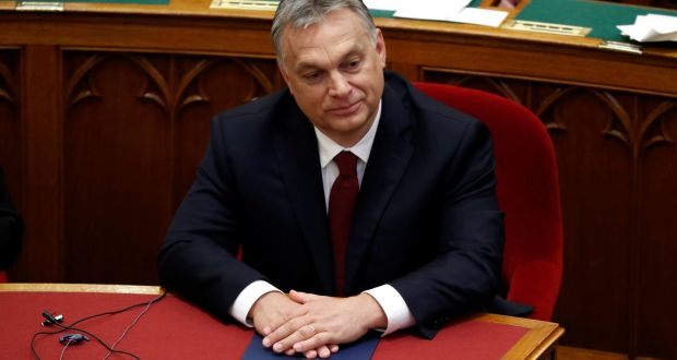Hungarys stop soros bill seeks to criminalise ngos helping migrants hungarian prime minister viktor orban the bill would allow jailing of ngo workers who help stopboris Images