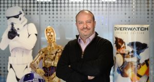 Andrew Day, chief executive of Keywords Studio. Photograph: Dara Mac Dónaill