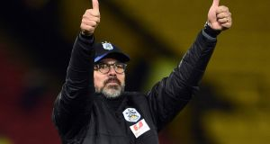 Huddersfield manager David Wagner has signed a new three-year deal, the Premier League club have announced. Photograph: PA