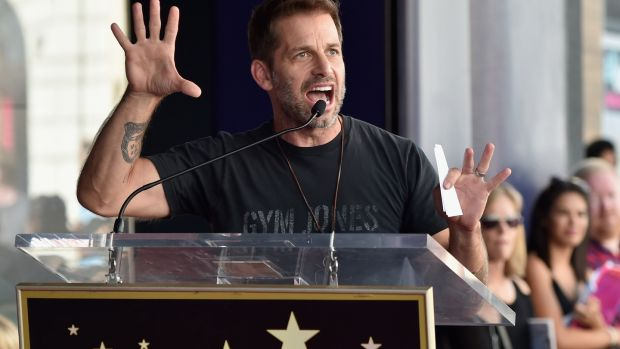 Director Zack Snyder, who has announced he will adapt Ayn Rand's 1943 novel The Fountainhead. Photograph: Alberto E Rodriguez/Getty Images