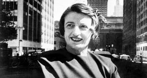 "The ""endlessly grand"" Ayn Rand circa 1957. Photograph: New York Times/Getty Images"