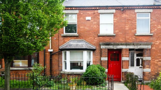 A two-bed, one-bath terraced house at 17 Merton Avenue is selling for €525,000
