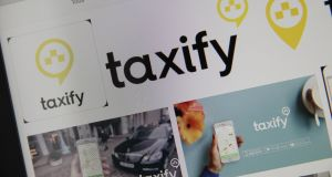 Estonian start-up Taxify has raised $175 million as it aims to expand beyond its network of 40 cities in Europe and Africa Photograph: Getty Images