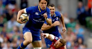 "Leinster's Joey Carbery: ""Obviously playing in one position the whole time would make me better in that position."" Photograph: James Crombie/Inpho"