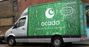 The rise of Ocado shares has put its valuation multiples squarely in line with Amazon. Photograph: Katie Collins/PA Wire