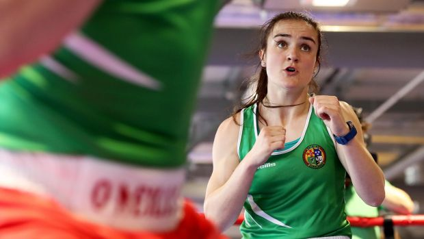 "Kellie Harrington: ""This would be the biggest test since the World Championships . . . I'll do what I can do."" Photograph: Tommy Dickson/Inpho"