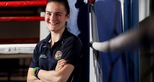 "Kellie Harrington: ""Light welterweight was 64kg. I was never actually 64kg. I was always lighter than 64kg but now I look bigger than I did when I was at 64."" Photograph: Tommy Dickson/Inpho"