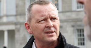 Richard Boyd-Barrett: When he brought the story closer to home, the TDs in the chamber looked and listened with a mixture of upset and concern. Photograph: Cyril Byrne