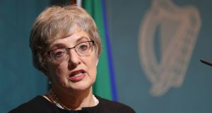 Minister for Children Katherine Zappone: 'The Bill places the information and tracing service on a statutory footing for the first time.' Photograph: Niall Carson/PA Wire