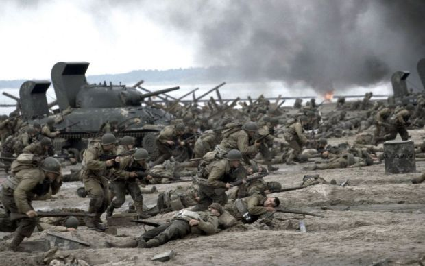 Truly extraordinary opening: Saving Private Ryan, Steven Spielberg's 1998 film