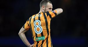 David Meyler has said that he was disappointed with how Hull City handled his departure from the club. Photo: Getty Images