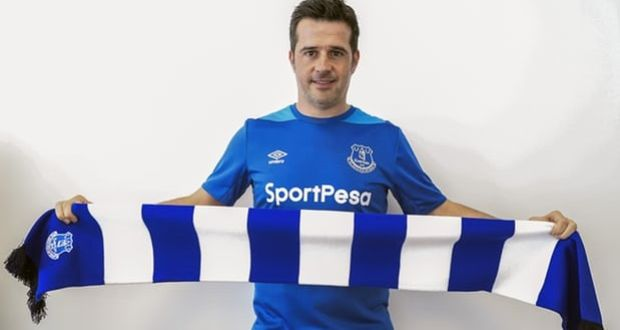 47272a00ae8 Marco Silva is unveiled as the new Everton manager. Photograph: Everton FC/ Everton
