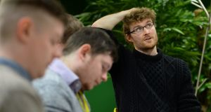 Web Summit CEO Paddy Cosgrave: becoming more and more like Michael O'Leary by the day. Photograph: Dara Mac Dónaill