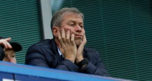 Roman Abramovich has put a £1bn scheme to redevelop Stamford Bridge on hold after suffering delays in the renewal of his visa to enter the UK. Photo: Matt Dunham/File