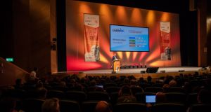 Some 1,200 people attended at this year's FutureScope, which is organised by Dublin BIC. Photograph: Keith Arkins