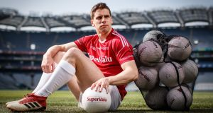 "Lee Keegan at Croke Park for the launch of SuperValu's #BehindTheBall Campaign:  ""Second-best doesn't get you anywhere, unfortunately. We know that all too well over the past six or seven years."" Photograph: James Crombie/Inpho"