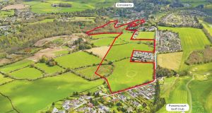 The 55-acre land bank in Enniskerry, Co Wicklow