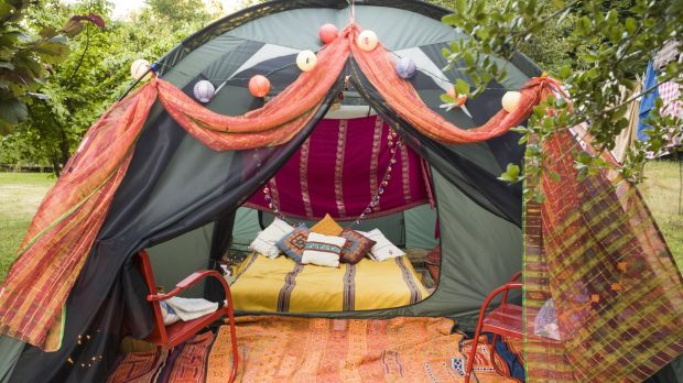 Romantic glamping at Killarney Glamping