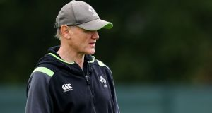 Joe Schmidt: 'We want to make sure this tour is another building block for what comes in the future.' Photograph: Billy Stickland/Inpho