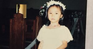 'As a child Jastine was always the first pick to be a flower girl.'