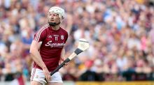 Joe Canning: was in impressive form as he contributed a total of 1-12 in Galway's win over Kilkenny at Pearse Stadium. Photograph: Oisín Keniry/Inpho