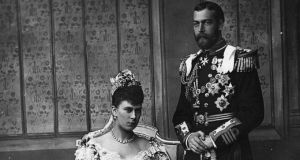 The marriage of George, Duke of York, and princess Mary of Teck. Photograph: Wikipedia commons
