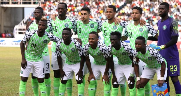 2170acda9af The new Nigerian football kit is a big seller. Photograph: Afolabi  Sotunde/Reuters