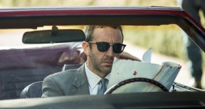 Chris O'Dowd stars as Miles Daly in Get Shorty, which  is loosely based on the Elmore Leonard model