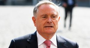 Labour leader Brendan Howlin has said the position of Britain's government on Brexit amounted to 'a very British coup'. File photograph: Stephen Collins/Collins Photos