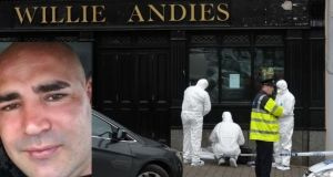 Gardaí are investigating the killing of Patrick 'Paddy' O'Donnell (inset) at Willie Andies pub, Mitchelstown, Co Cork, on Friday. Photograph: Michael Mac Sweeney/Provision