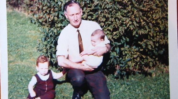 Summer 1970 – 'My father, Paul and I.'