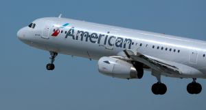 A new cabin set-up is to be rolled out in more than 200 of the aircraft American Airlines uses on domestic flights. Photograph: Reuters/Mike Blake