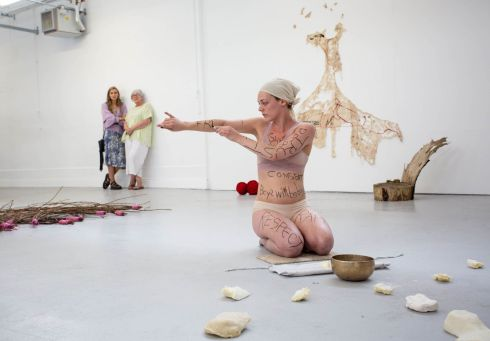The Limerick School of Art and Design exhibition where the work of more than 200 contributors went on display.  Photograph: Alan Place