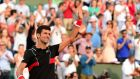 Novak Djokovic beat Fernando Verdasco in straight sets to reach the French Open quarter-finals. Photograph: Caroline Blumberg/EPA