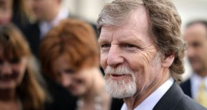 Conservative Christian baker Jack Phillips refused for religious reasons to make a wedding cake for  a gay couple. Photograph: Getty Images