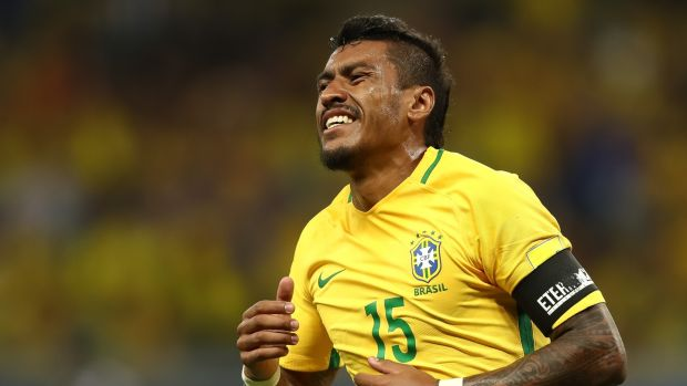 88c73e9bb2 Paulinho is Brazil s second highest goalscorer within the current squad  having netted 12 compared with Neymar s
