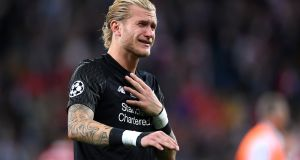 Loris Karius of Liverpool sheds tears following his side's defeat in the Champions League final against Real Madrid. Photo: Laurence Griffiths/Getty Images