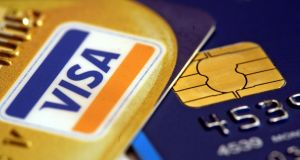 A  Visa card outage caused problems for about 10 hours on Friday. Photograph: Martin Keene/PA Wire