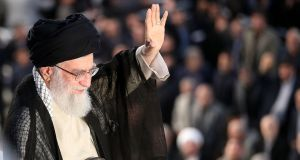 Iran's supreme leader Ayatollah Ali Khamenei: said on Monday he had ordered preparations for Iran to have greater enrichment capacity if the deal falls apart. Photograph: AFP