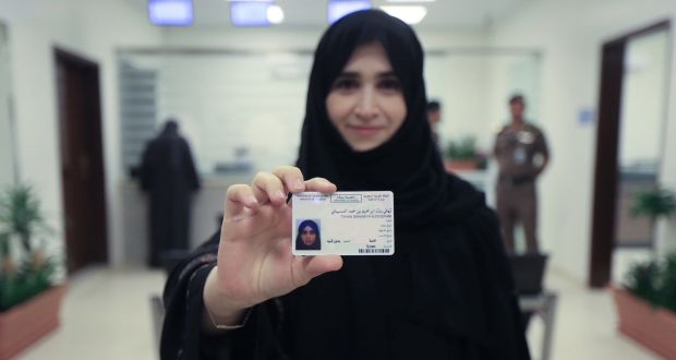 First Saudi Driving Issues Its To Licences Women Arabia