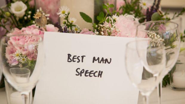 Making a best man's speech? Read this first