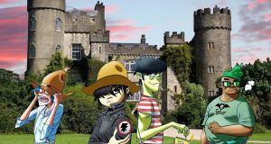 Gorillaz toon up for Malahide Castle on Saturday night