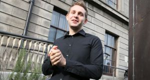 "Max Schrems: The default for a site should be for third-party data-gathering to be turned off – ""Most of the companies still have everything on."" Photograph: Joe Klamar/AFP/Getty"