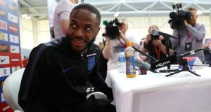 "Raheem Sterling: ""You see a gun on someone's leg, you are going to automatically think: 'What the hell are you doing?' "" Photograph: Action Images via Reuters/Carl Recine"
