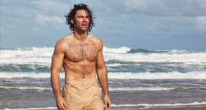 Aidan Turner as Ross Poldark in 'Poldark'. Photograph: Mammoth Screen/BBC/PA