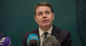 Minister for Finance Paschal Donohoe  .Photograph: Brenda Fitzsimons / THE IRISH TIMES