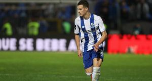 Diogo Dalot has completed his move from Porto to Manchester United. Photo: Getty Images
