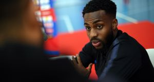 England's Danny Rose has said that he has told his family not to travel to the World Cup in Russia for fears of racist abuse. Photo: Paul Ellis/Getty Images